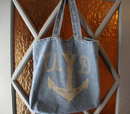Denim Anchor Tote  — $11